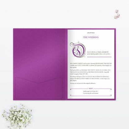Fairytale Wedding Invitation - Wedding Stationery
