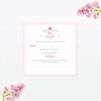 Royal Elegance RSVP - Wedding Stationery