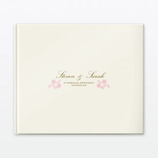 Vintage Rose Photo Book - Wedding Stationery