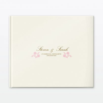 Vintage Rose Photo Book - Wedding Stationery