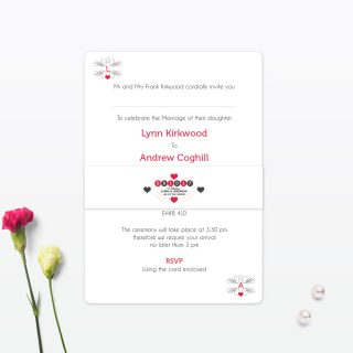 Las Vegas Collection, Wedding Stationery by Love Invited