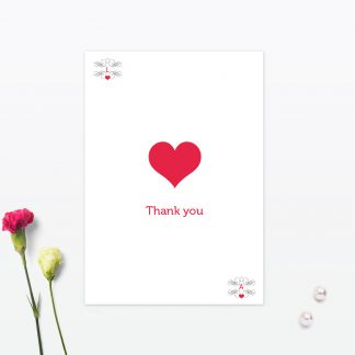 Las Vegas Wedding Thank You Card