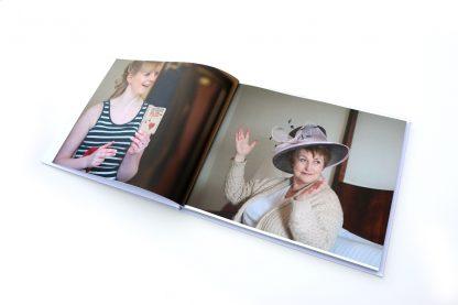 Personalised wedding photo book