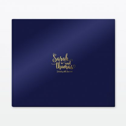 Glitz and Glamour Photo Book - Wedding Stationery