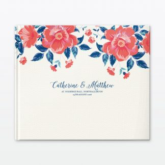 Vintage Floral Photo Book - Wedding Stationery