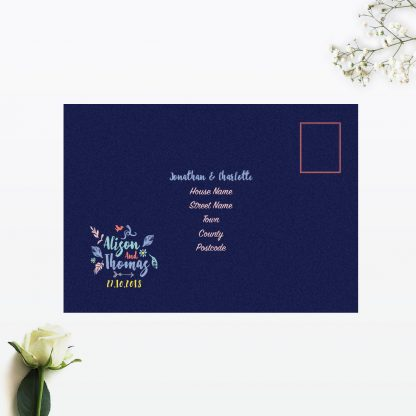 Flora and Fauna RSVP - Wedding Stationery