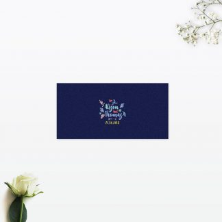 Flora and Fauna Place cards - Wedding Stationery