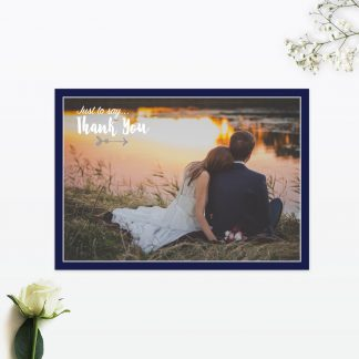 Flora and Fauna Thank you card - Wedding Stationery