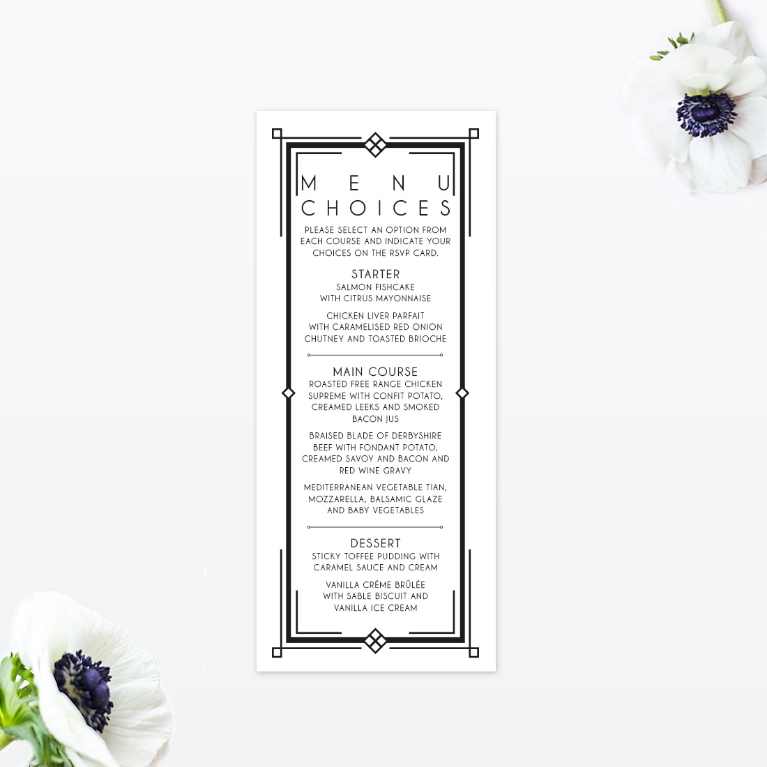 Art Deco Archives - Love Invited - Luxury Wedding Invitations and ...