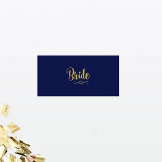 Glitz and Glamour Place Card - Wedding Stationery