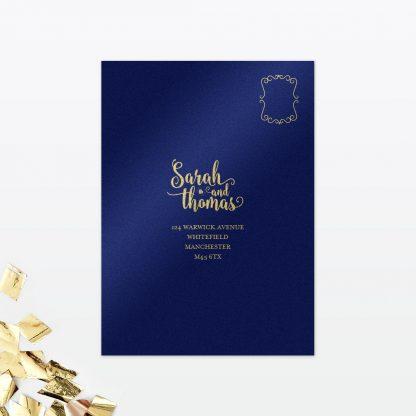 Glitz and Glamour RSVP - Wedding Stationery