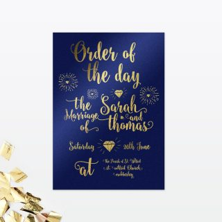 Glitz & Glamour Wedding Stationery Collection