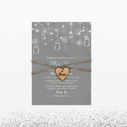 Hearts & Lanterns Wedding Stationery