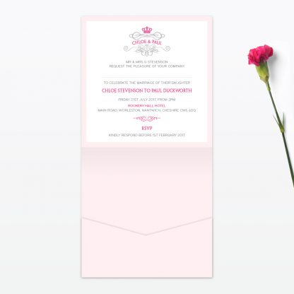 Royal Elegance Wedding Stationery