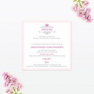 Royal Elegance Wedding Stationery
