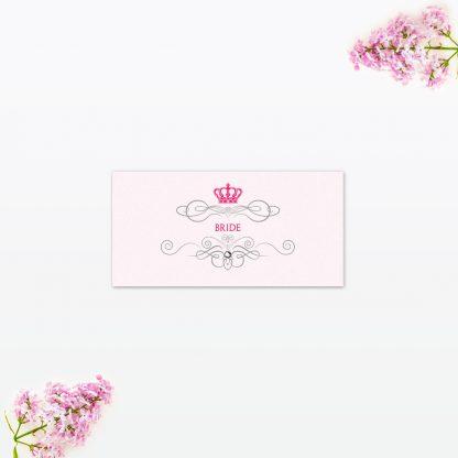 Royal Elegance Place Card - Wedding Stationery