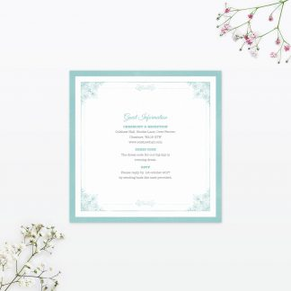 Vintage Chic Additional Information - Wedding Stationery