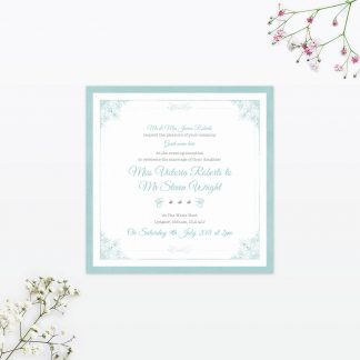 Vintage Chic Sample - Wedding Stationery