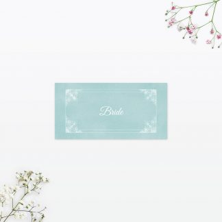 Vintage Chic Place Card - Wedding Stationery