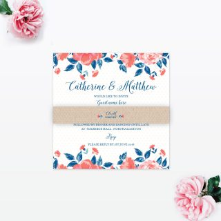 Vintage Floral Collection, Wedding Stationery by Love Invited