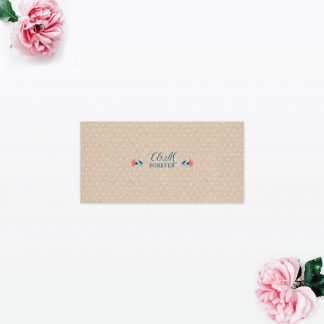 Vintage Floral Order of the Day - Wedding Stationery