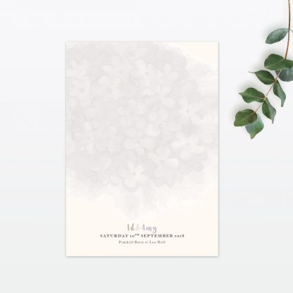 Watercolour Flora Thank you card - Wedding Stationery