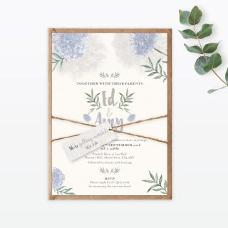 Watercolour Flora Collection, Wedding Stationery by Love Invited