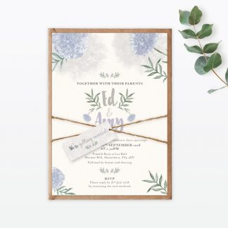 Watercolour Flora Wedding Stationery