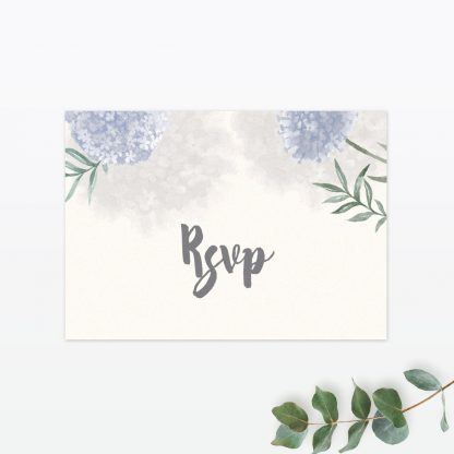 Watercolour Flora RSVP - Wedding Stationery