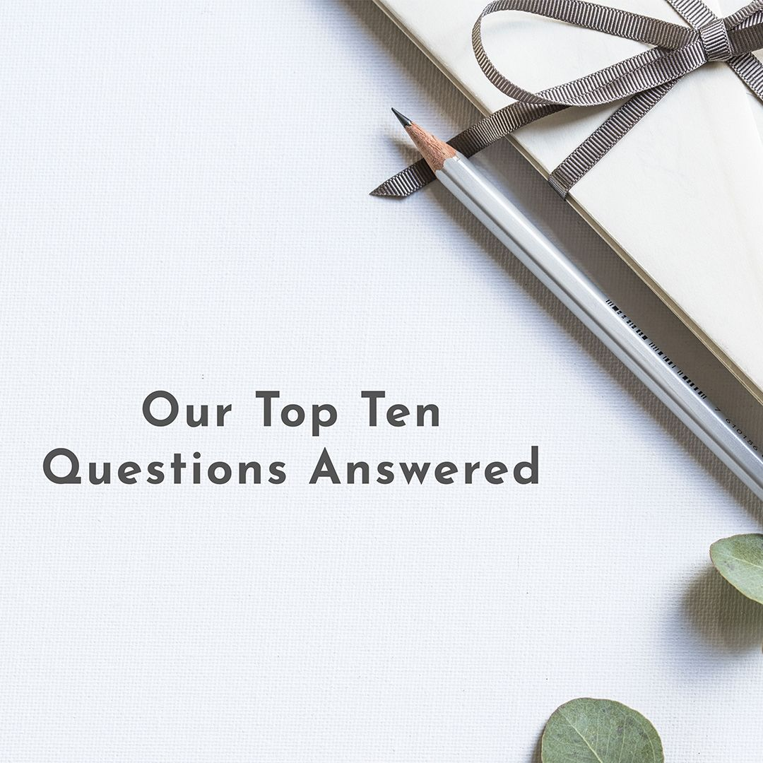 Love Invited Top Ten Questions