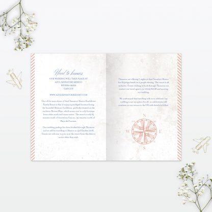 Destination Wedding Invitation - Wedding Stationery