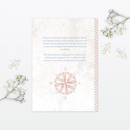 Destination Additional Information - Wedding Stationery