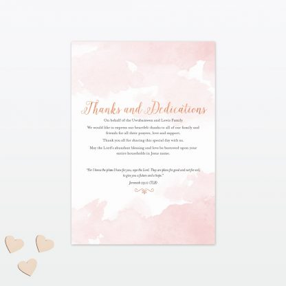 Sweetheart Order Service - Wedding Stationery