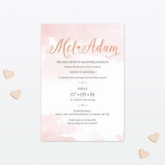 Sweetheart Wedding Invitation Love Invited