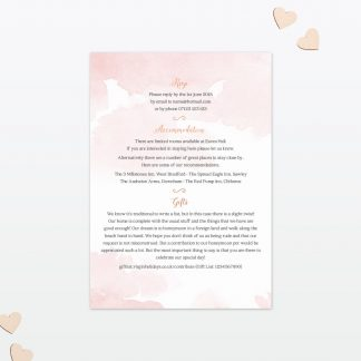 Wedding Additional Information Sweetheart Love Invited