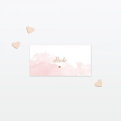 Wedding Place Card Sweetheart Love Invited