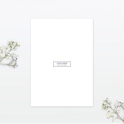 Beautiful Butterfly Wedding Invitation - Wedding Stationery