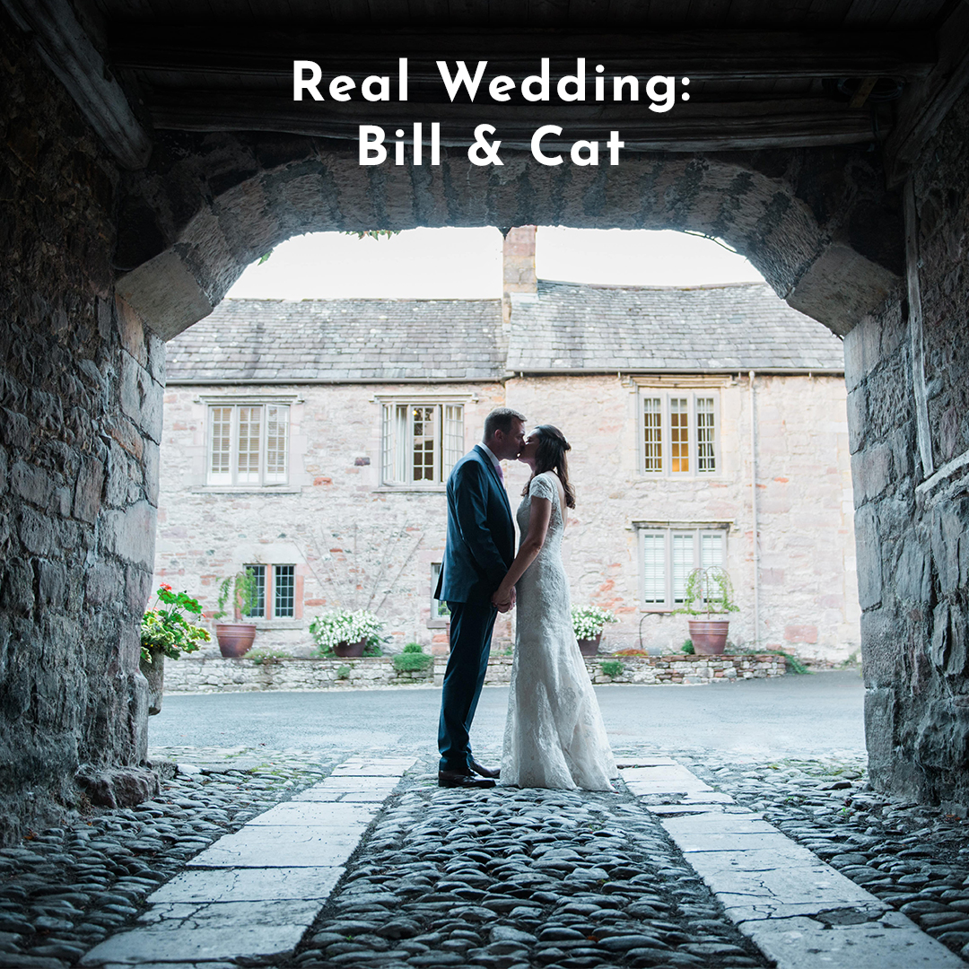Bill & Cat Real Wedding Love Invited