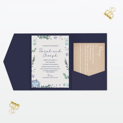 Botanical Wedding Invitation - Wedding Stationery