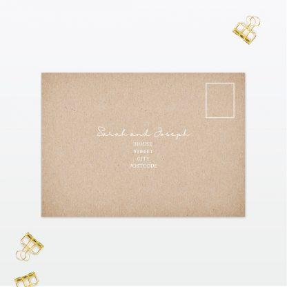 Botanical RSVP - Wedding Stationery