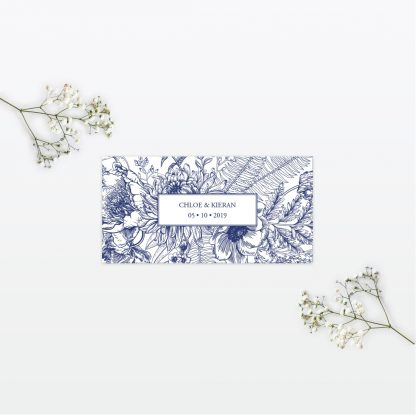Beautiful Butterfly Place cards - Wedding Stationery