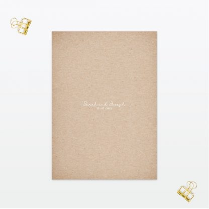 botanical wedding invitation menu love invited