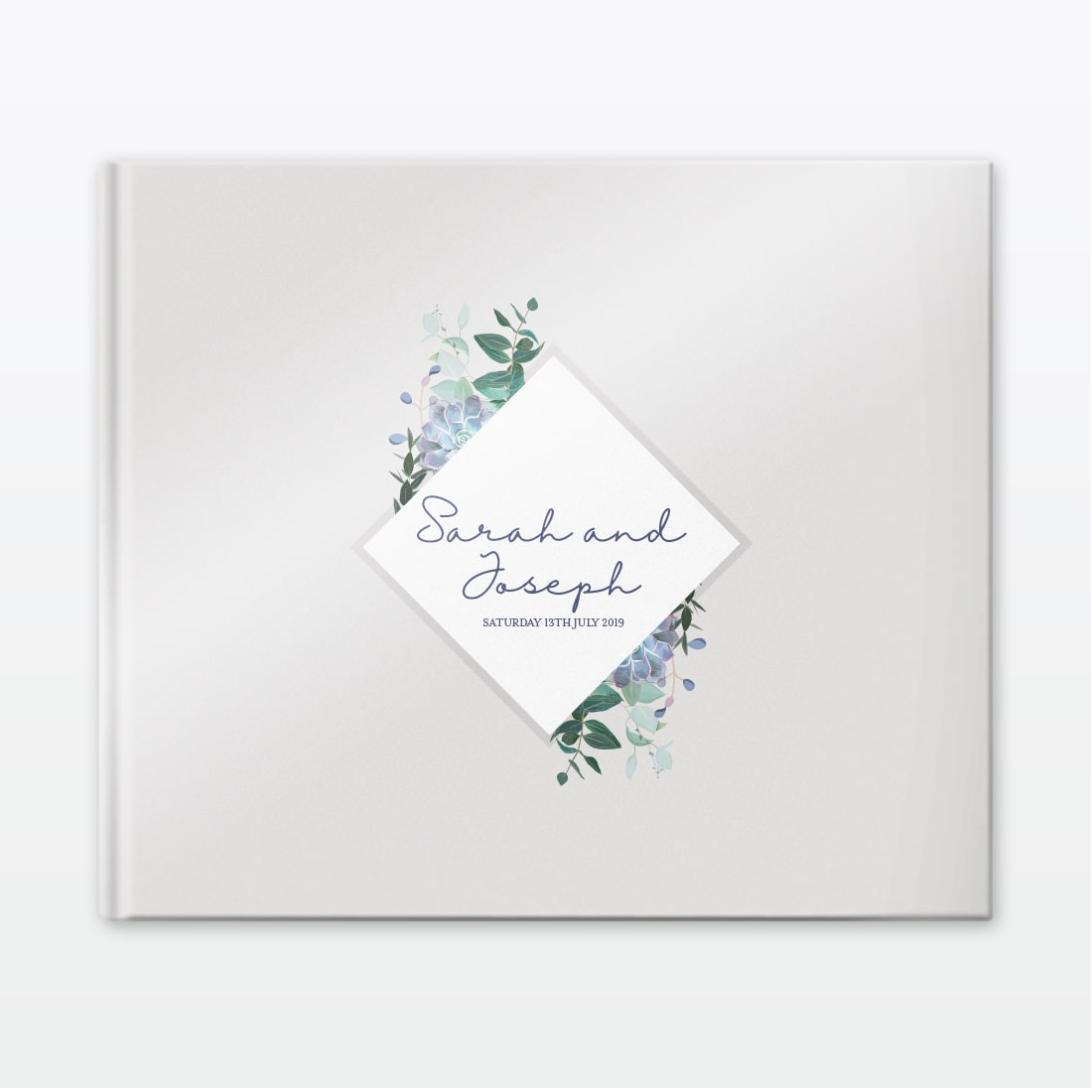 Botanical Wedding Photo Book