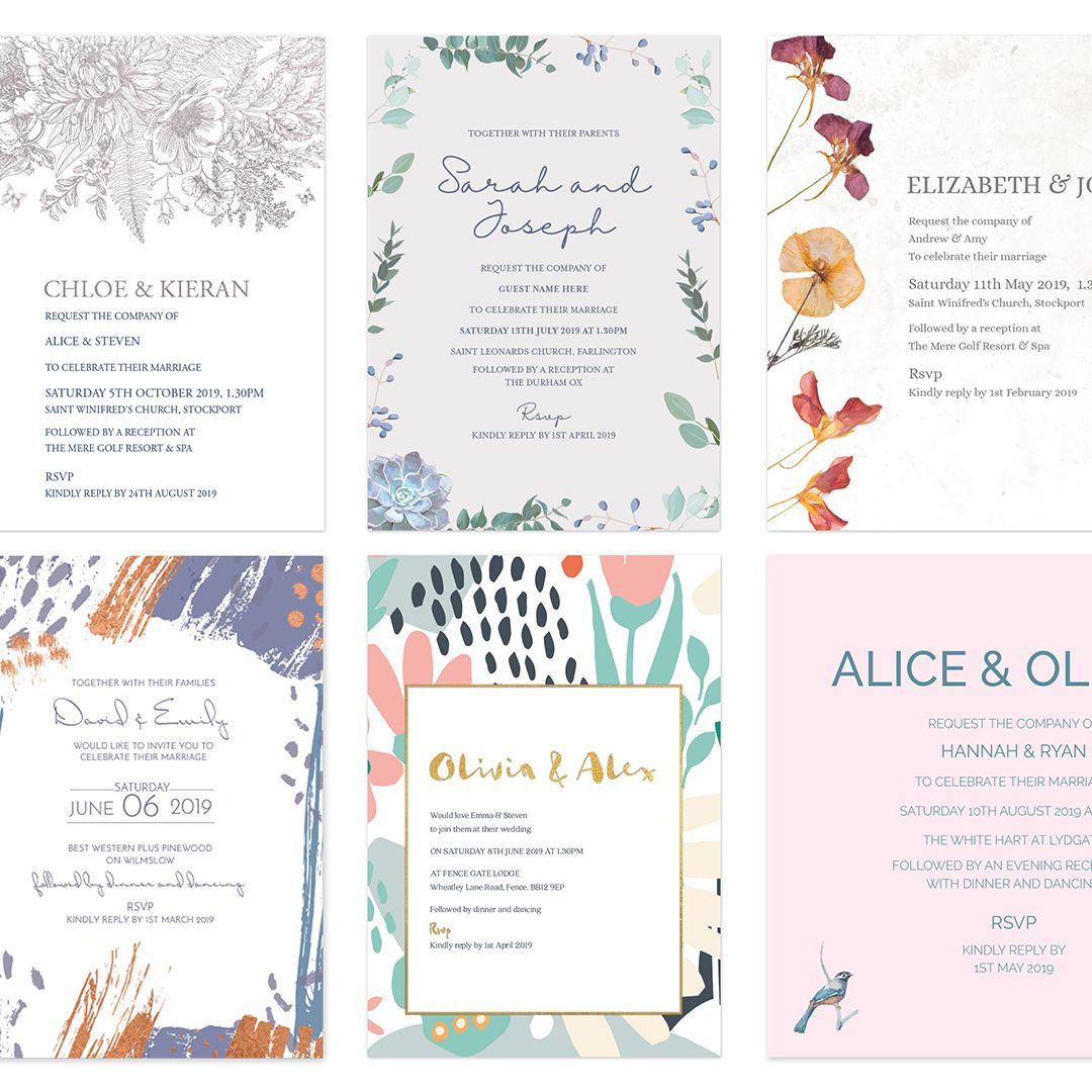 Wedding Stationery collections Love Invited