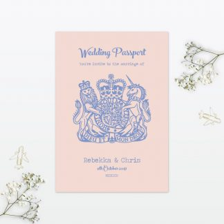 Destination Sample - Wedding Stationery