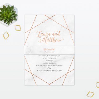 Geometric Sample - Wedding Stationery