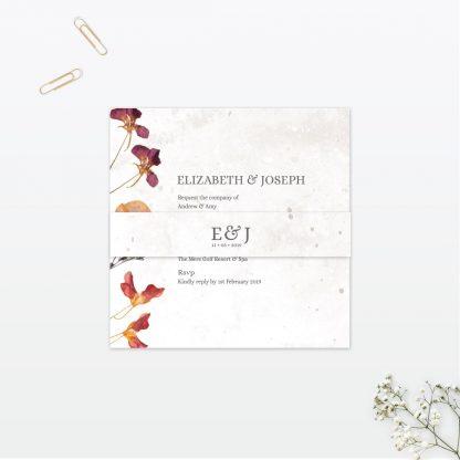 Spring Blossom Wedding Invitation - Wedding Stationery
