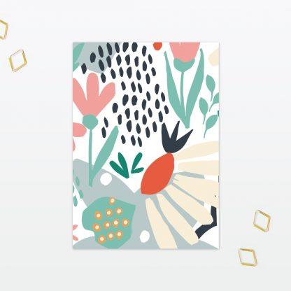 Summertime Invitation Menu - Wedding Stationery