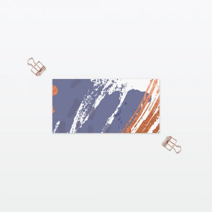 Abstract Brushstroke Place cards - Wedding Stationery