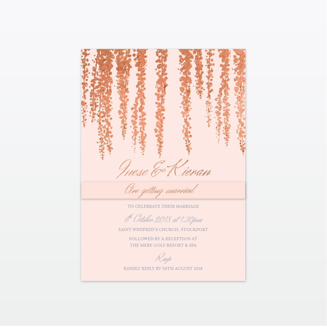 Love Invited bespoke wedding Stationery